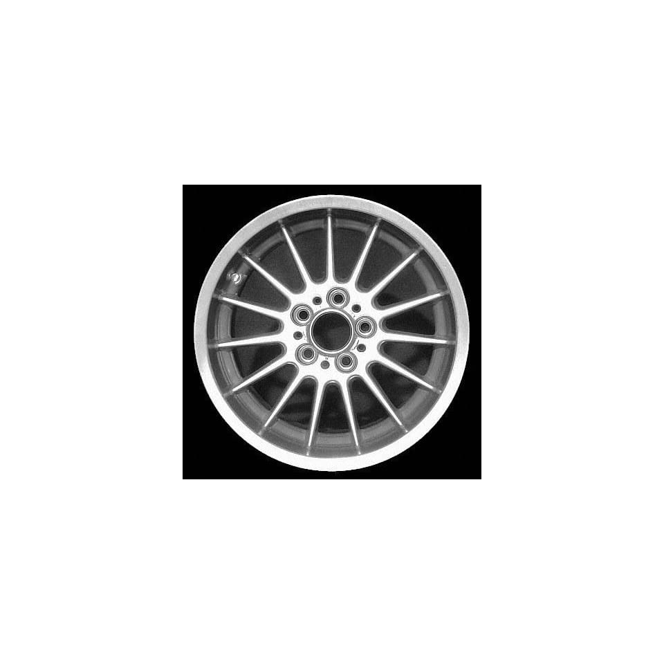 97 03 BMW 540I 540 i ALLOY WHEEL RIM 17 INCH, Diameter 17, Width 9 (15 SPOKE), 26mm offset Style #32, SILVER, 1 Piece Only, Remanufactured (1997 97 1998 98 1999 99 2000 00 2001 01 2002 02 2003 03) ALY