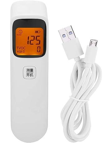 Monitor de Calidad del Aire detector de Formaldehído Con Pantalla LED Ligero Portátil Precisión Calidad del