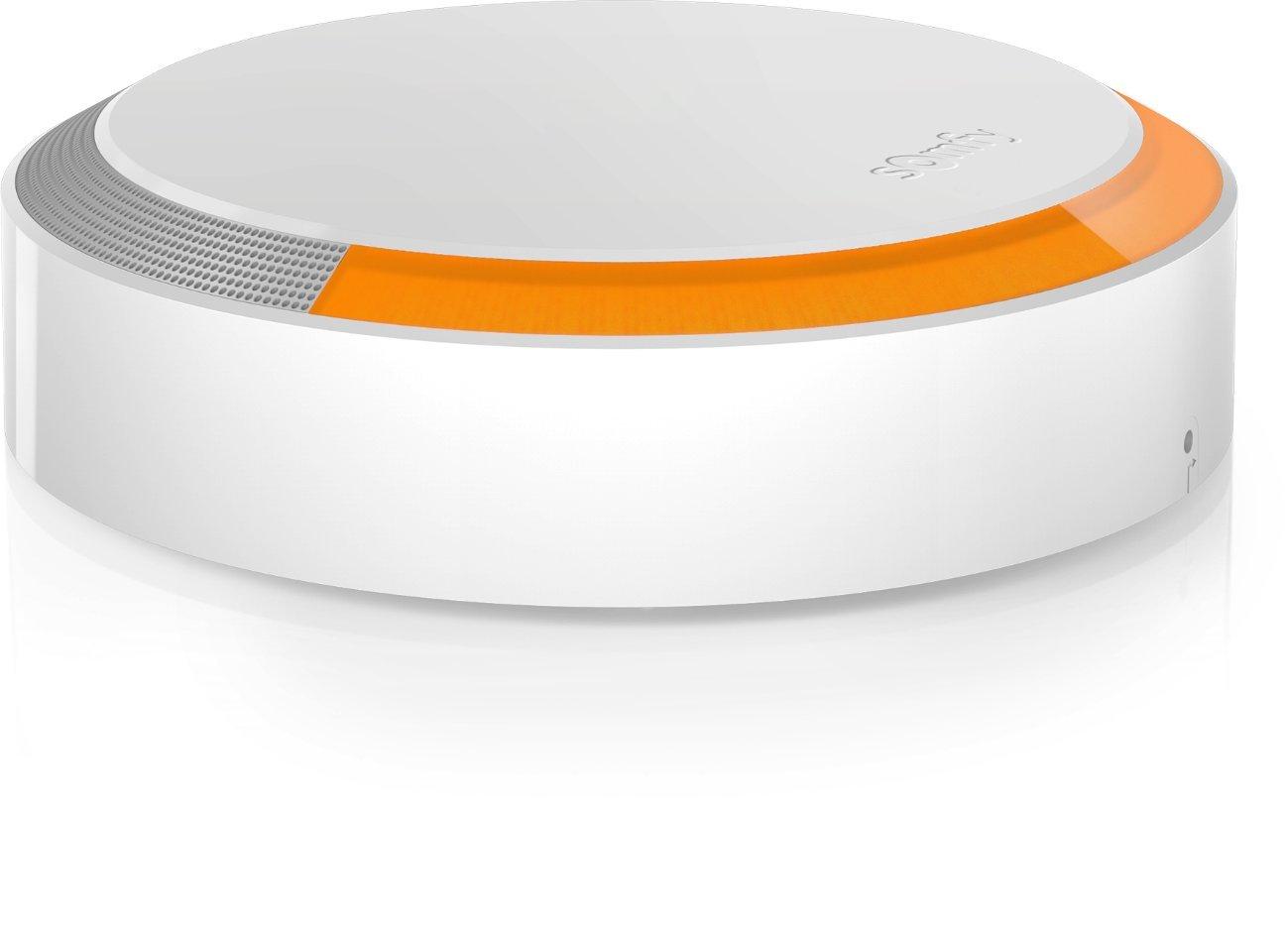SOMFY - Sirè ne Exté rieure | Sirè ne Exté rieure 112 dB avec Flash Lumineux | Compatible avec Somfy One et Somfy Home Alarm | Batterie Remplaç able (2 ans) | Installation Facile | App pour iOS/Android 2401491A