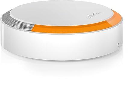 Somfy 2401491A - Sirena Exterior para Alarma Somfy Protect, 112 dB, Blanco