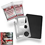 Cheap Credit Card Survival Tool – 11 in 1 Credit Card Tool is the Ultimate Survival Tool Making it an Integral Part of Your Survival Gear.