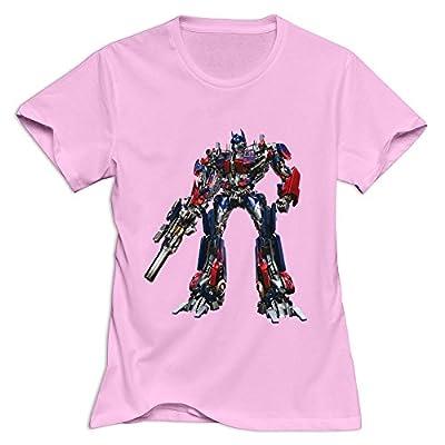 StaBe Female Optimus Prime Transformer T-Shirt Slim Fit Artist