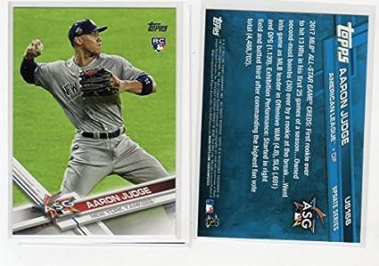 7beb634c4 2017 Topps Update Series Aaron Judge All-Star Game Rookie Baseball Card