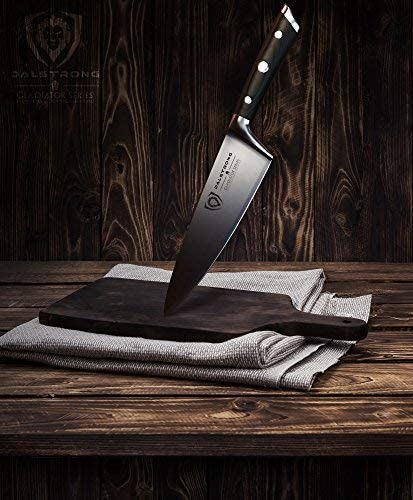 """DALSTRONG Chef Knife – 8"""" Gladiator Series - best chef knife under 100"""