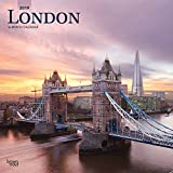London 2019 12 x 12 Inch Monthly Square Wall Calendar, UK United Kingdom City (Multilingual Edition)