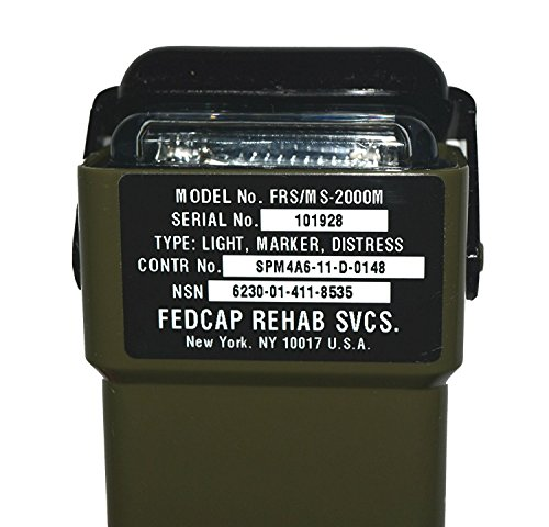 Military Specs. FRS/MS 2000M DISTRESS LIGHT MARKER