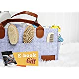 Baby Diapers Caddy Organizer for Boys and Girls Travel Bag Portable Nursery Basket Storage Bin,Baby Shower Gifts - Blue