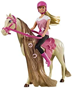 Simba Toys 105730939 Steffi Love - Muñeca Steffi Love y caballo