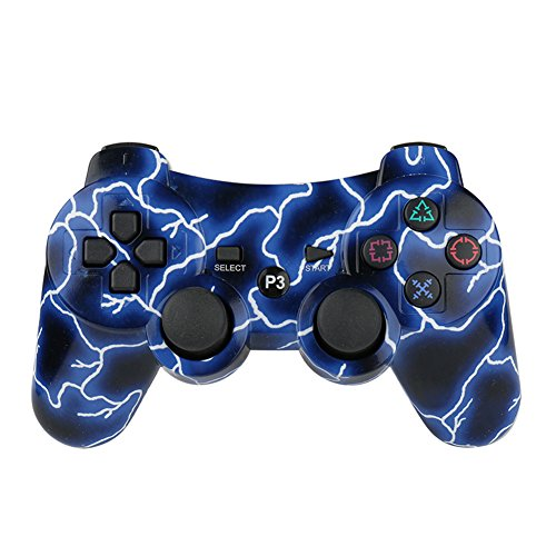 Lioeo PS3 Controller Wireless Gamepad for PS3 Game Controller Remote...