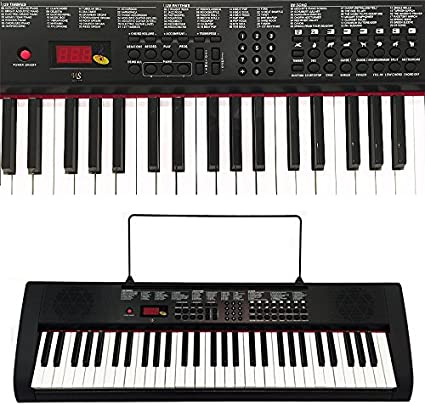 Synthetiseur electrique Clavier piano 61 touches Pro: Amazon.es ...