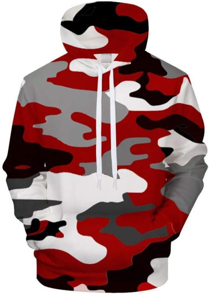 XIN Camouflage Kleidung Printed Hoodies Männer Frauen Hoodie Sweatshirts Tops Lustige Streetwear Pullover,S ** L