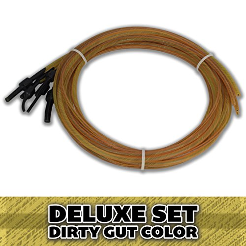 Superior Bassworks DELUXE Upright Double Bass Strings Dirty Gut Color FULL SET