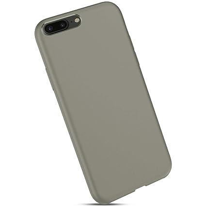 Custodia iPhone 8 Plus iPhone 7 Plus Custodia Pelle JAWSEU