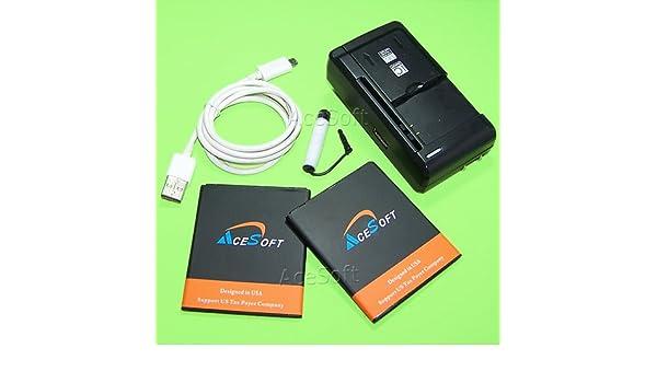Amazon com: (Motorola Moto E4 Combo Pack) 2X 3200mAh Standard Spare