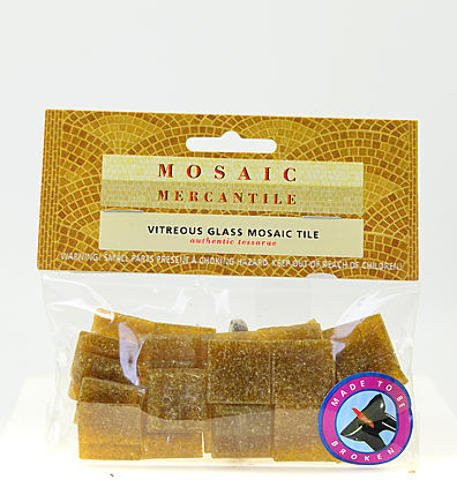 Mosaic Mercantile Solid Color Vitreous Glass Mosaic Tile (Tobacco) 4 pcs sku# 1824290MA (Tobacco Mosaic)