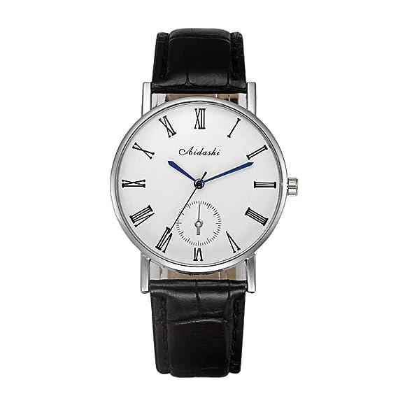DRKJ Reloj De Hombre, Reloj Digital De BLU-Ray para Hombres, Simple Y Elegante. Reloj Romano Digital.: Amazon.es: Relojes