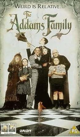 The Addams Family 1991 Vhs Barry Sonnenfeld Anjelica Huston Raul Julia Christopher Lloyd Barry Sonnenfeld Anjelica Huston Raul Julia Christopher Lloyd Amazon Co Uk Video