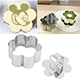 SDFC Stainless Steel Flower Shape Dessert Cake Cheese Mould Layer Slicer Cutter Worldwide Store
