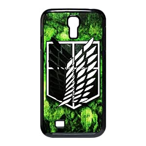 Samsung Galaxy S4 I9500 Phone Case for Classic theme ATTACK ON TITAN Logo pattern design GCTAAOTT838326