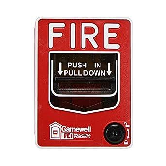 fci gamewell honeywell ms 7af fire alarm dual action manual pull rh amazon com Fire Alarm Flow Diagram Fire Alarm Installation Diagram