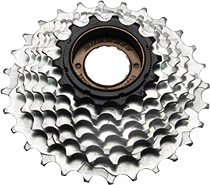 Sporting Goods Cassettes, Freewheels & Cogs New Sunrace 7 Speed 13-28 Freewheel Shimano Compatible