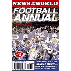 News Of The World Football Annual 2005-2006: Soccer's Pocket Encyclopedia