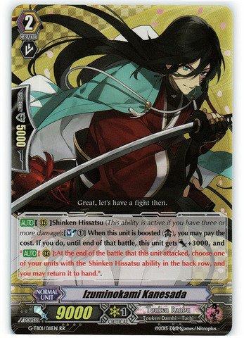 Cardfight!! Vanguard TCG - Izuminokami Kanesada (G-TB01/011EN) - G Title Booster 1: Touken Ranbu -ONLINE-