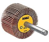 DEWALT DAFE1H2410 3-Inch by 1-Inch by 1/4-Inch HP 240g Flap Wheel