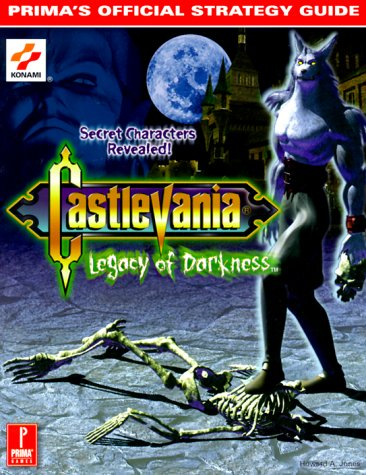 Castlevania: Legacy of Darkness (Prima's Official Strategy Guide)