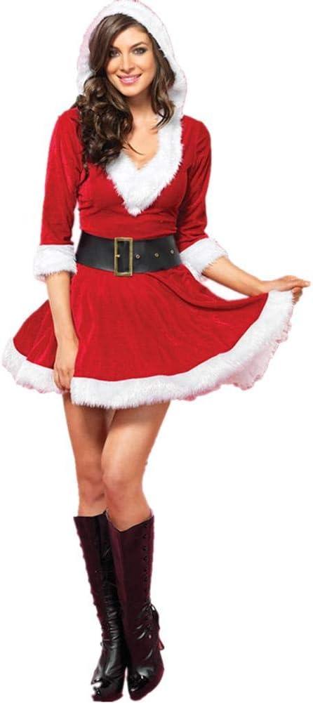 jaspenybow Disfraz de la Sra. Claus Disfraz de Santa para bebé ...