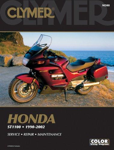 02 (CLYMER MOTORCYCLE REPAIR) (Honda St1100 Pan)