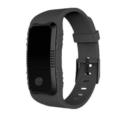 H1 Montre Intelligente Bluetooth étanche Podometre Écran Couleur Fitness Tracker dActivité Cardiofréquencemètre | Bracelet