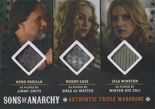 Sons of Anarchy Seasons 6 & 7 Costume Wardrobe Card TM1 Smits De Matteo Zoli (Sons Of Cards Anarchy Wardrobe)