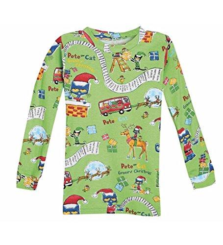 CWDKids Pete the Cat Saves Christmas Pajamas Size 2T