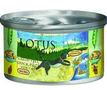 Image of Lotus Cat Grain-Free Duck and Vegetable Pate - 2.75oz (24 in case)