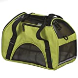 Bergan Comfort Pet Carrier, Spinach Green, Small