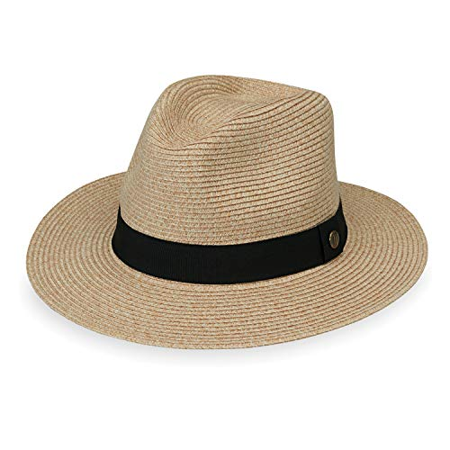 462d1c1919a4a8 Jual Wallaroo Hat Company Men's Palm Beach Hat - UPF 50+ 2 3/4' Brim ...
