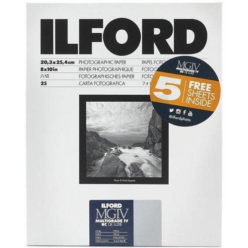 (Ilford Multigrade IV RC DeLuxe Paper (Pearl, 8 x 10