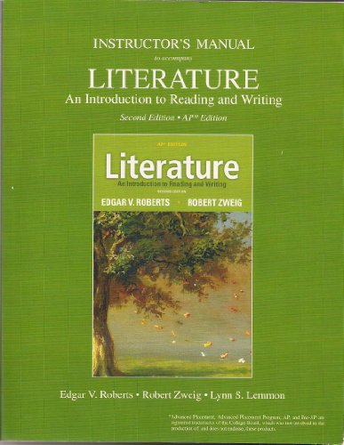 literature an introduction to reading and writing A literature review follows an essay format (introduction, body, conclusion), but if the literature itself is the topic of the essay , your essay will need to consider the literature in terms of the key.