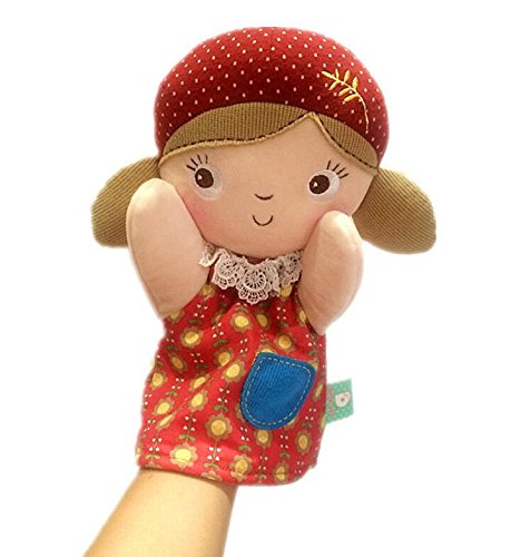 Professional Girl Puppet (YChoice Interesting Finger Puppets Toy Hand and Finger Puppet for Kids(Girl))