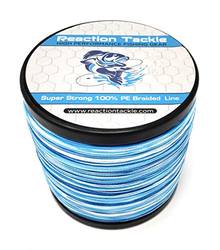 Reaction Tackle Blue Camo 30LB 1500yd
