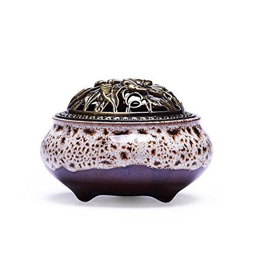 UOON Handmade Ceramic Incense Burner product image