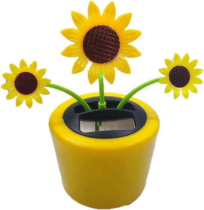Cactus KODORIA Solar Powered Dancing Toy Bobbling Dancing Toy Car Desk Decorative Ornament Kids Children Birthday