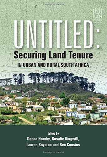Untitled: Securing Land Tenure in Urban and Rural South Africa