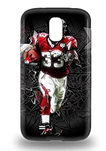 New Arrival Cover 3D PC Case With Nice Design For Galaxy S4 NFL Atlanta Falcons Micheal Turner #33 ( Custom Picture iPhone 6, iPhone 6 PLUS, iPhone 5, iPhone 5S, iPhone 5C, iPhone 4, iPhone 4S,Galaxy S6,Galaxy S5,Galaxy S4,Galaxy S3,Note 3,iPad Mini-Mini 2,iPad Air )