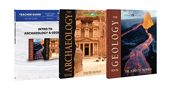 Intro to Archaeology & Geology Package: Master Books ...