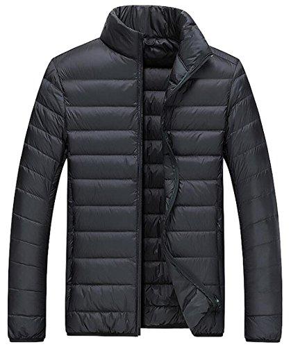 [해외]ARTFFEL 남성 겨울 울트라 소프트 가벼운 Packable Duck Down Jacket Coat/ARTFFEL Men Winter Ultra Soft Lightweight Packable Duck Down Jacket Coat