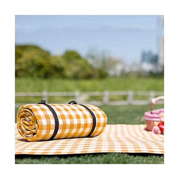 Simpeak Picknickdecke Wasserdicht 150x200 cm, Campingdecke wasserdichte Stranddecke für Strände/Picknicks/Parks/Camping…