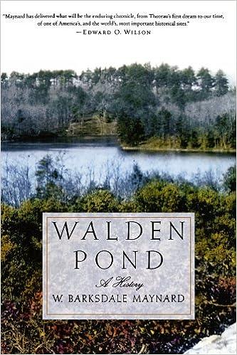 Amazon.com  Walden Pond  A History (9780195181371)  W. Barksdale ... 1dda8820c938