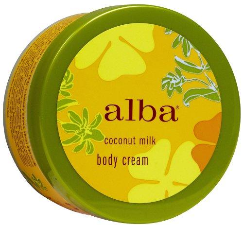 Alba Botanica Moisturizing Body Cream, Coconut Milk